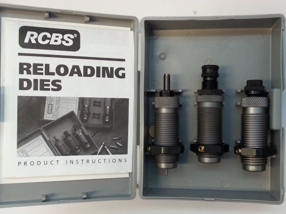 RCBS 3-DIE CARB TC SET 38 COLT (38 Super Auto)