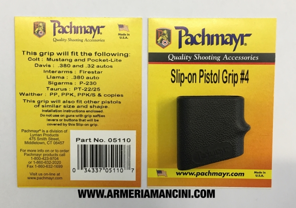 Impugnatura Pachmayr Slip on Pistol Grip 4