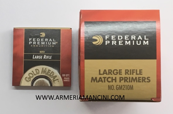 Inneschi federal Gold Medal large rifle match GM210M